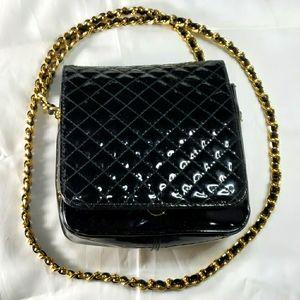 Amanda Smith Ladies Handbag Patent Leather Quilted